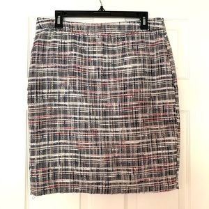 Cynthia Rowley Tweed Mini Pencil Skirt Size S, M,L